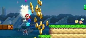 Super Mario run gameplay screenshot image