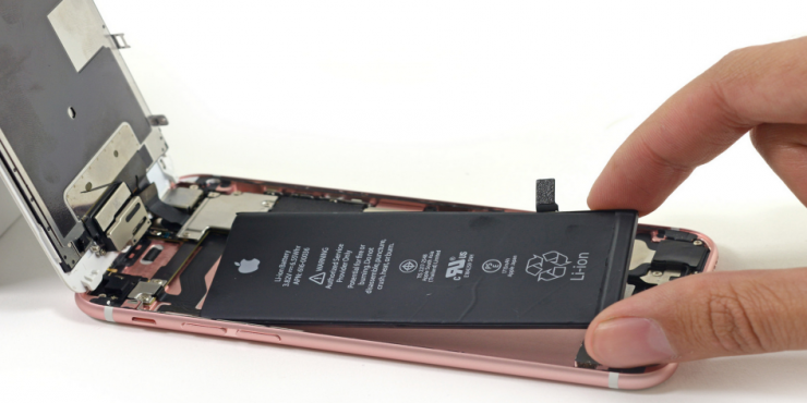 iPhone 6s battery photo