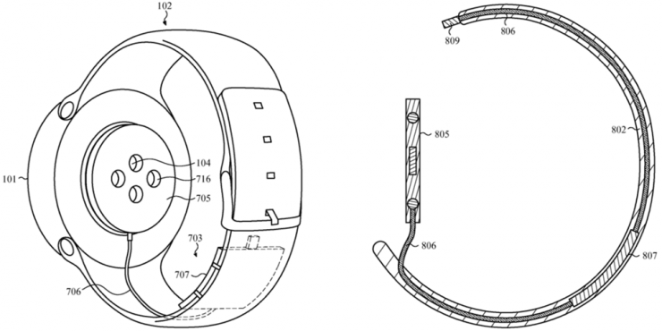 Apple watch patent application photo