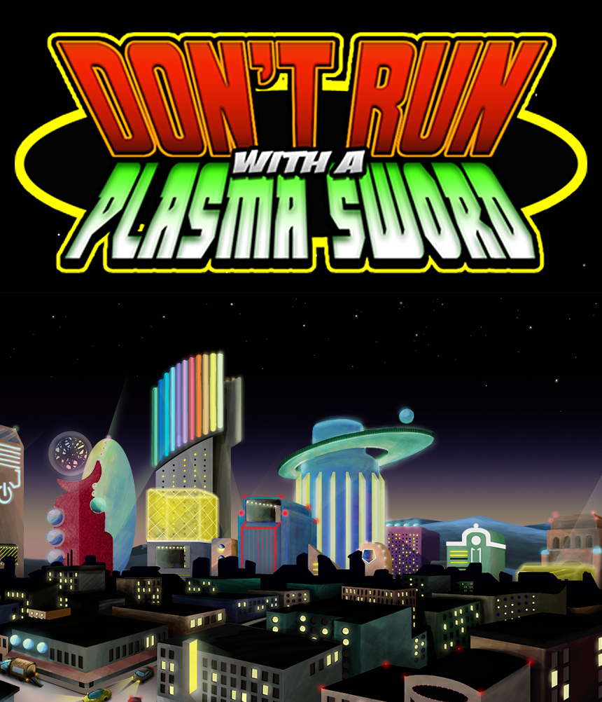 Don't Run With a Plasma Sword iOS App screenshot image