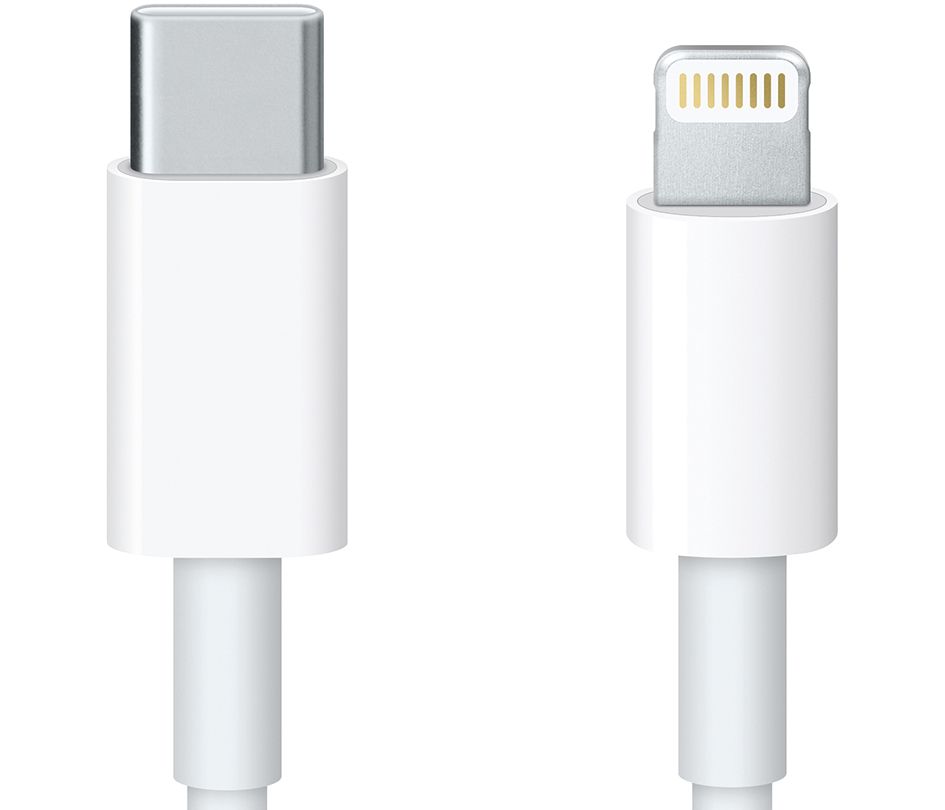 lightning and usb-c connectors image
