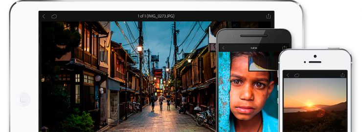 Adobe Photoshop Lightroom for iOS App image