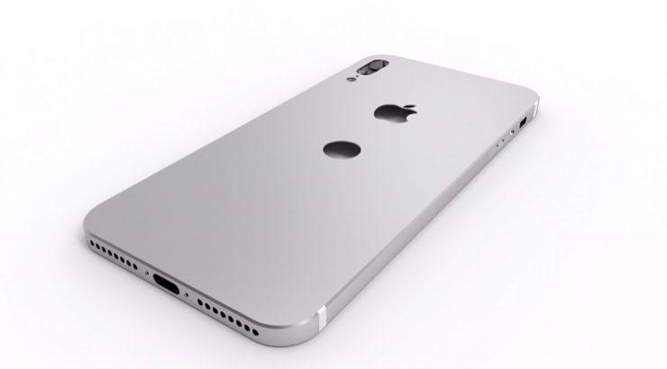 Рендер корпуса iPhone 8