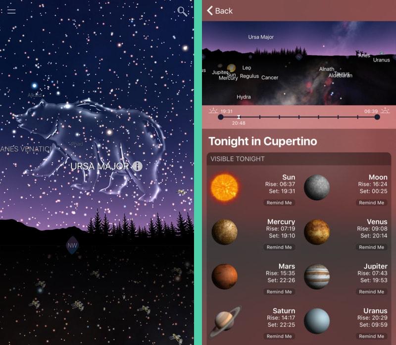 Лучшие бесплатные приложения : Night Sky 4