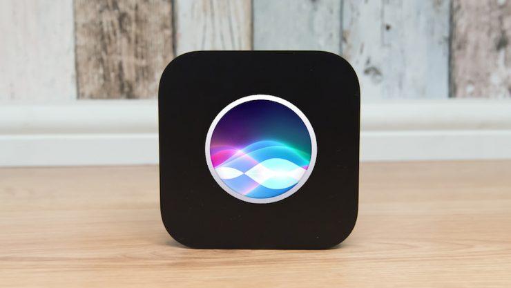 "Рендер ""умного"" динамика Apple Siri Speaker"