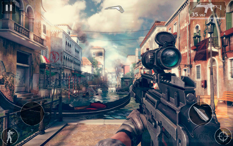 Modern combat 5: The Multiplayer eSports Shooter Venice screenshot