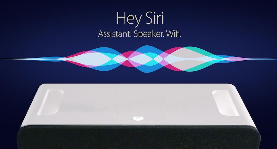 "Рендер ""умной"" колонки Apple Siri Speaker"