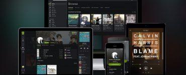 Spotify MacBook