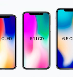 Модельный ряд Apple iPhone 2018