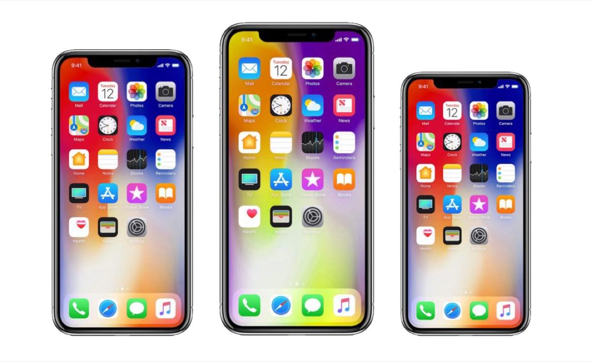 3 новые модели iPhone 2018