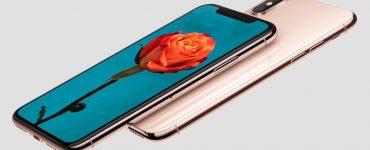 золотой iPhone X