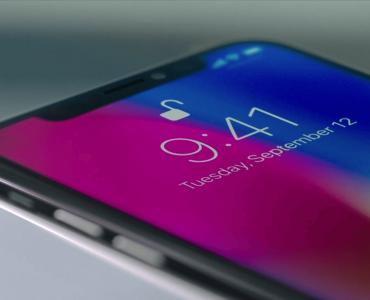 iPhone X, фото, 2018