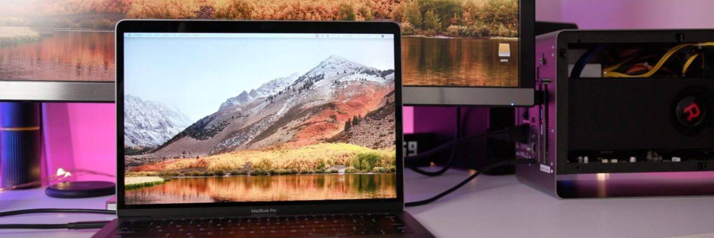 Mac OS High Sierra, eGPU поддержка