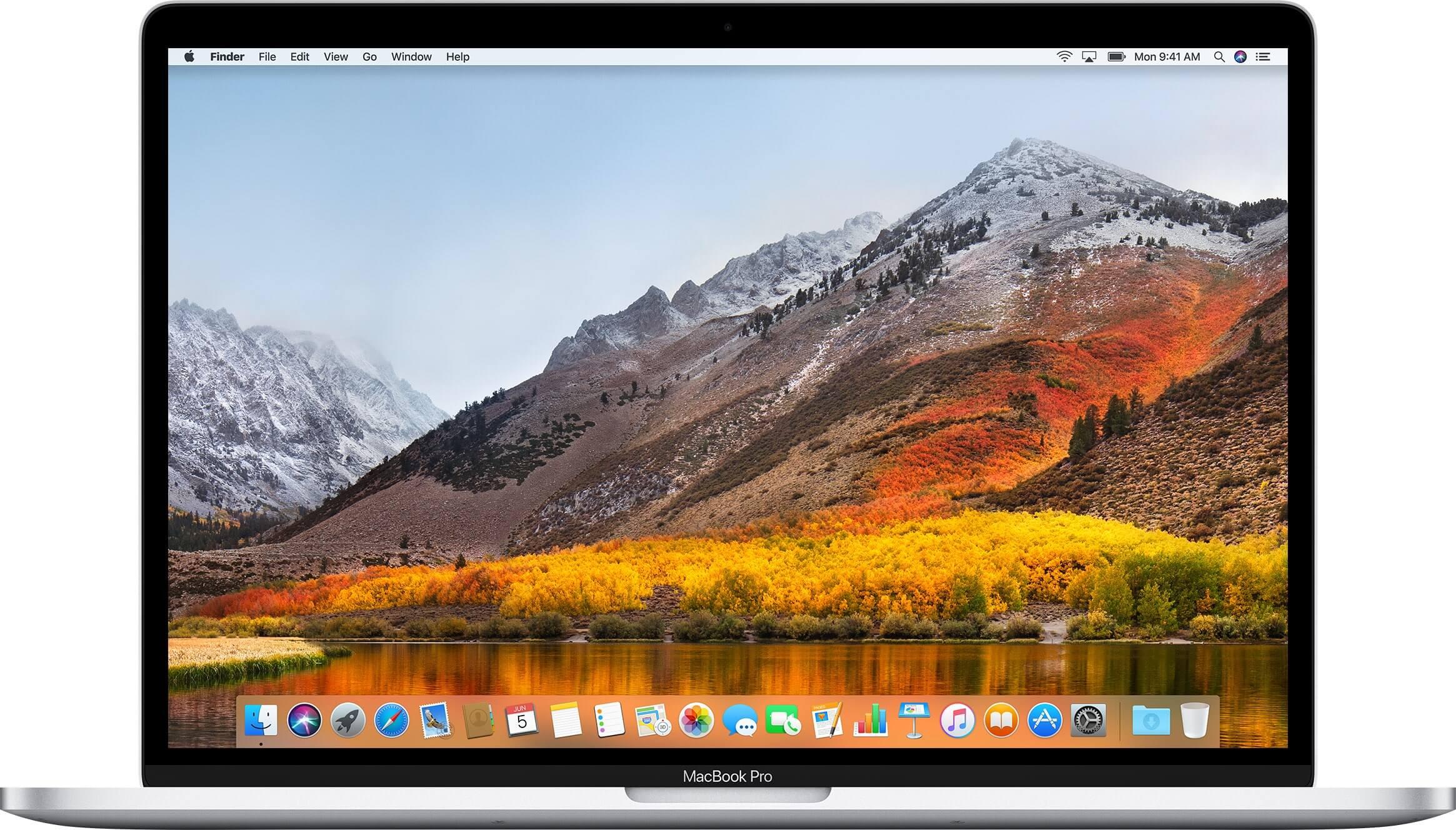 macOS High Sierra 10.13.4, фото