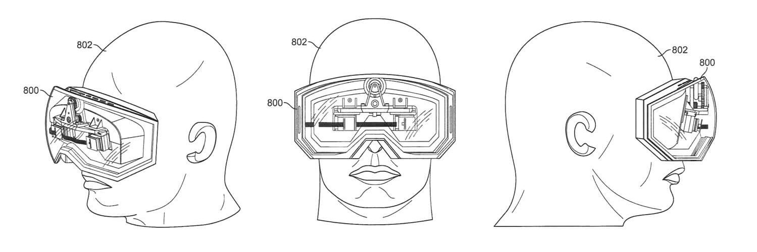 Apple virtual reality headset