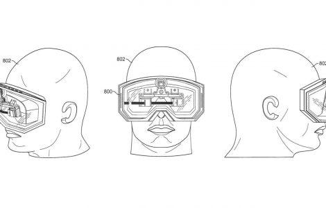 Apple virtual reality headset