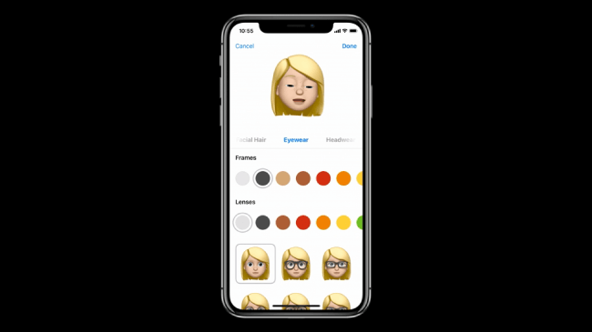 Memoji Apple WWDC 2018