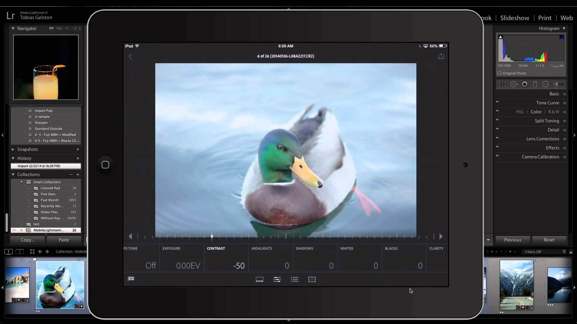 Adobe Lightroom iPad