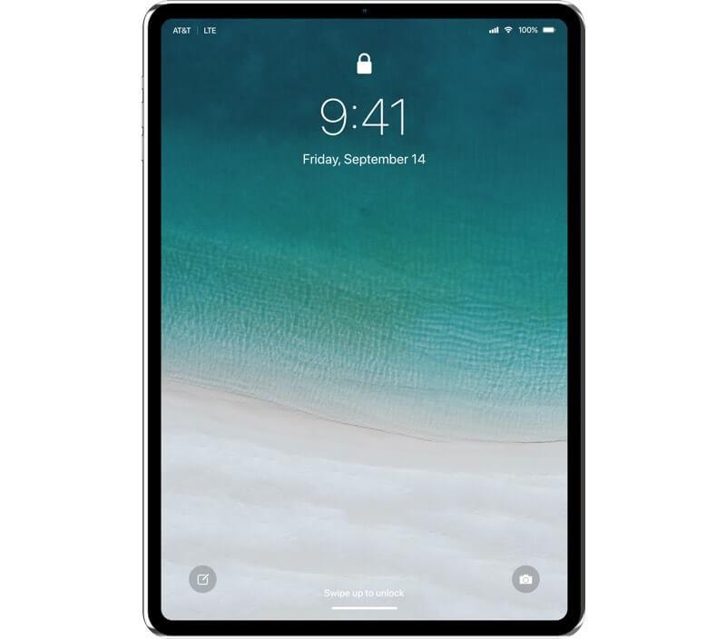 Концепт нового iPad Pro