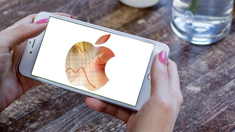 Продажи Apple