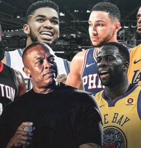 Beats by Dre NBA партнерство