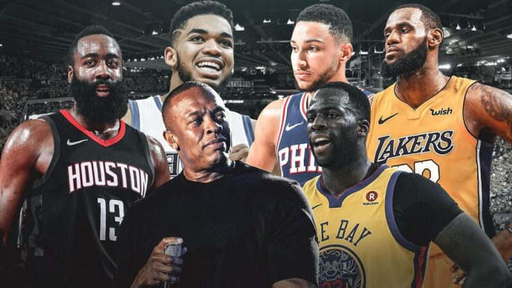Beats by Dre NBA партнерство