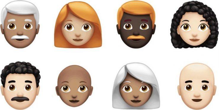 70 новых emoji