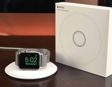 magnetic apple watch dock
