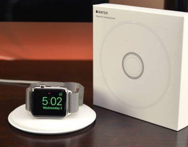 magnetic apple watch dock
