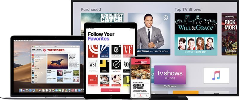Apple TV streaming service