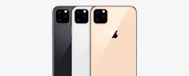 Apple iPhone 2019 камера с тремя объективами