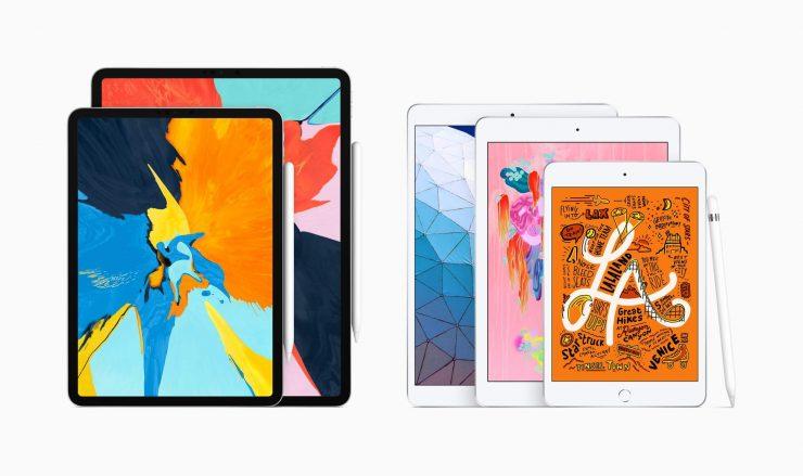 новые iPad Air и iPad mini с поддержкой Apple Pencil