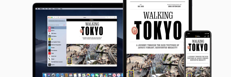 Apple News+, Apple TV+ сервисы