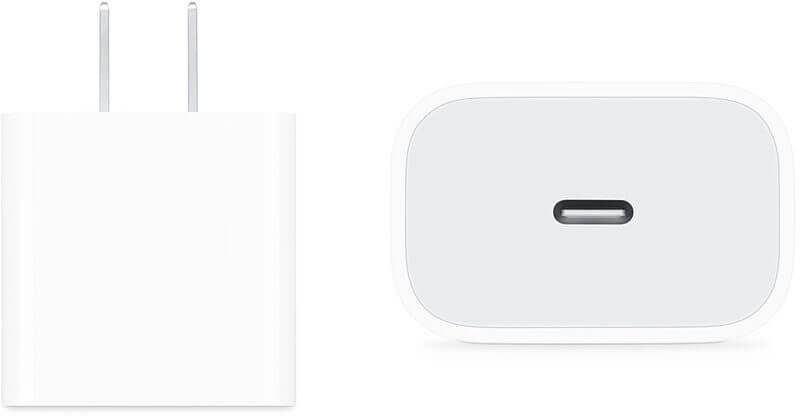 Apple iPhone 2019, зарядное устройство 18 Вт, кабель Lightning to USB-C