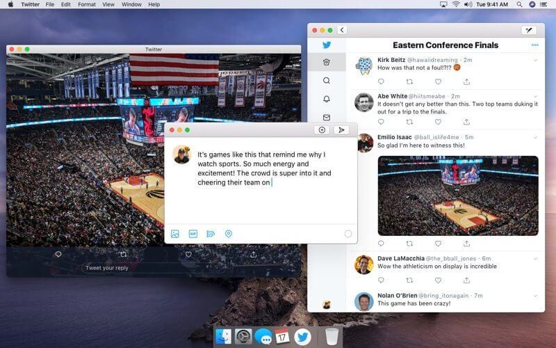 Twitter для macOS