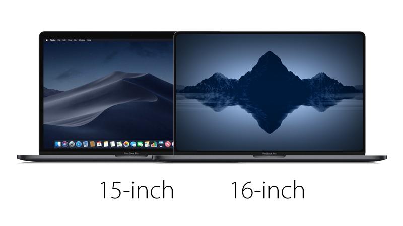 MacBook Pro с ультратонкими рамками