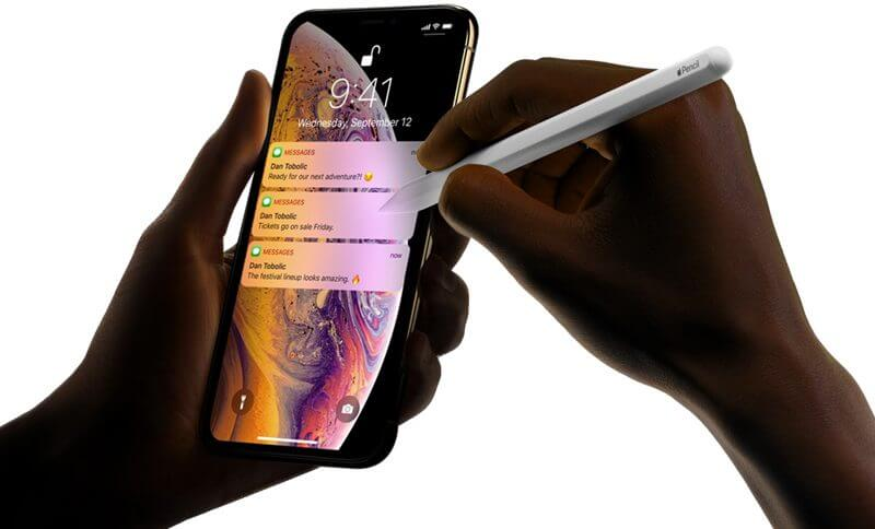 Apple Pencil, iPhone 2019
