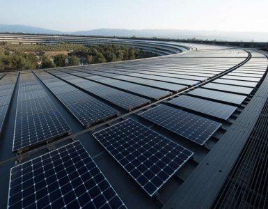 Apple, солнечные панели