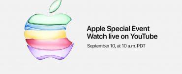 прямая трансляция Apple на YouTube