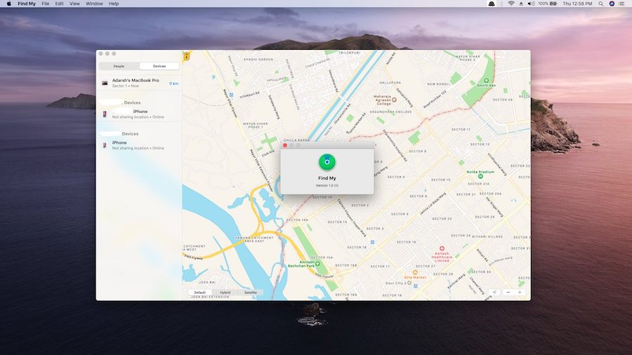 Apple, Find My