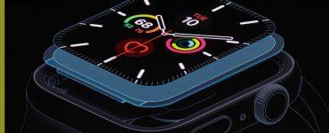 Apple Watch Series 5. iPad
