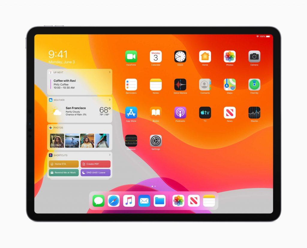 Apple, iPadOS, новые функции, Today View