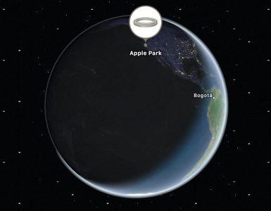 спутниковая сеть Apple