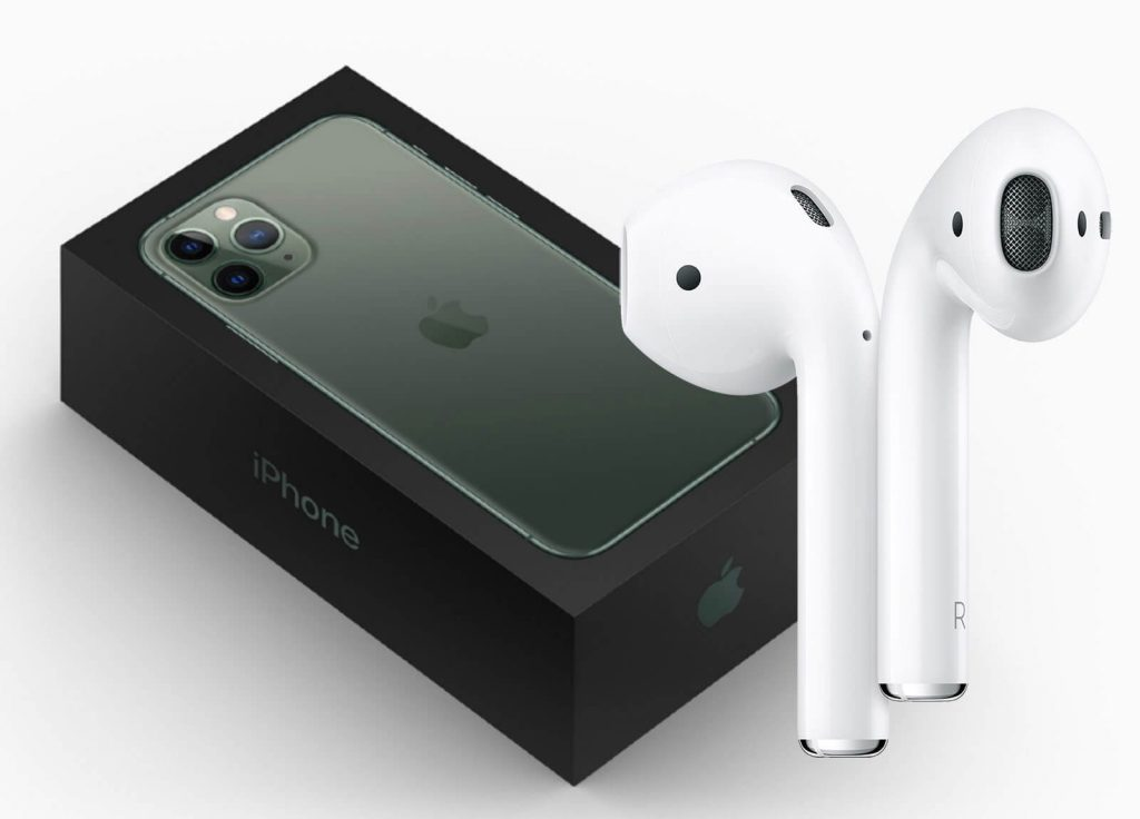 AirPods, iPhone 2020