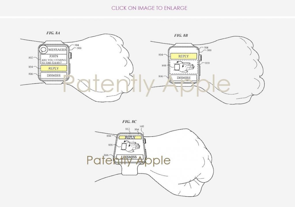 патент Apple Watch