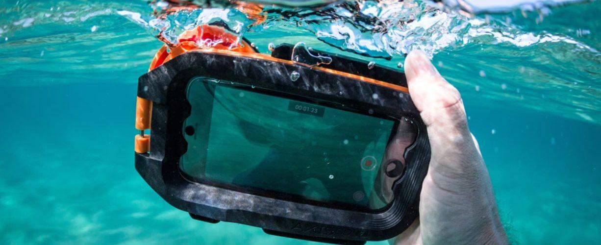 Aquatech, AxisGo, iPhone