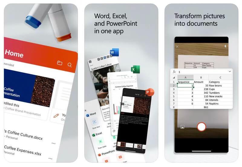 Microsoft, Office, iOS