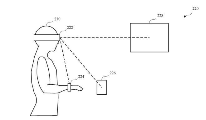 патент Apple, разблокировка устройств с помощью AR-гарнитуры