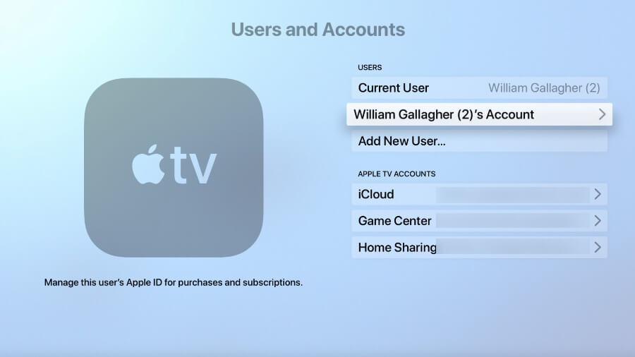 Apple Music, Apple TV