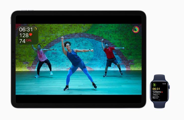 Fintess+ iPad